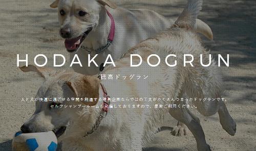 出典:穂高ドッグラン公式サイト