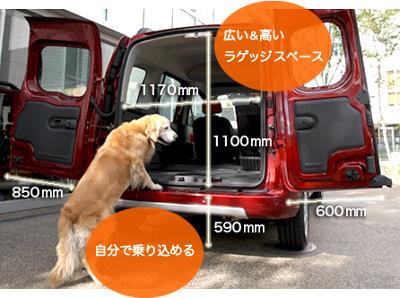 出典:renault Japon kangoo公式サイト